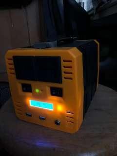 大功率大容量移動鋰電箱400w