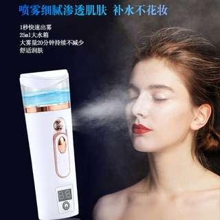 Nano Water Mist Sprayer Facial Beauty Spray USB Rechargeable Powerbank