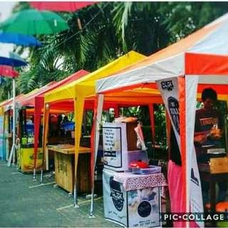 Ayoo tenda bongkar pasang/lipatnya guys stock ready all size...