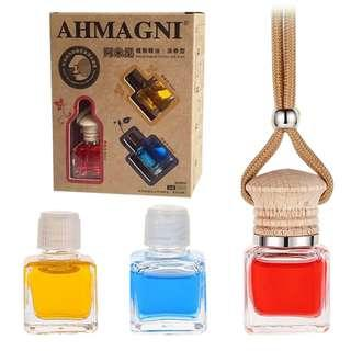 Original AHMAGNI Amini Natural Car Perfume Aromatherapy Essential Oil 3Bottles