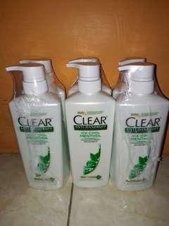 Clear ice cool menthol