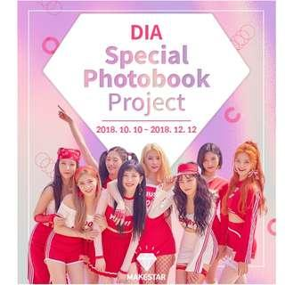 DIA Special Photobook Project by MakeStar