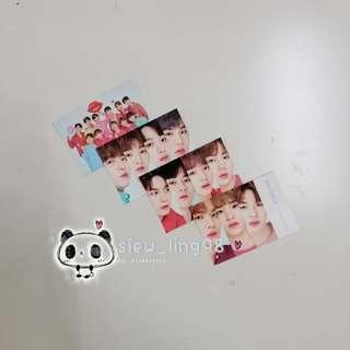 [WTS] WANNA ONE INNISFREE OFFICIAL PHOTOCARD