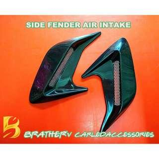 (9) Side Fender Deco Air Intake