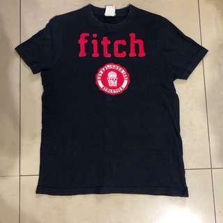 含運 保證正品 AF Abercrombie fitch kids  XL 短袖 上衣