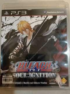 PS3 Game Bleach Soul Ignition