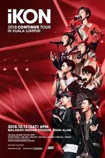 IKON TOUR CONCERT IN KL 2018 (IKONIC ZONE)