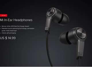 Xiaomi In Ear Earpiece (BRAND NEW)