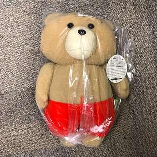 全新日本景品 賤熊大公仔 ted plush toy