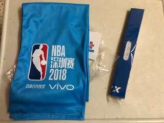 NBA 深圳賽2018 全新運動毛巾 打氣棒 包郵 Shenzhen pre season 季前賽 連票尾