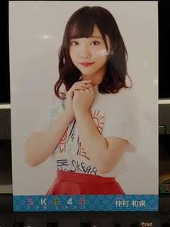 Ske48 仲村和泉 2018 單獨春Con 藍光/DVD 內封生寫真