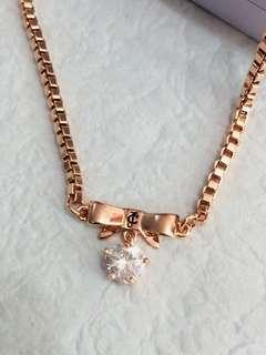 Juicy Couture Rosegold Necklace 🎀🎀