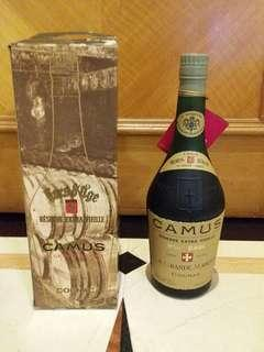 舊裝連盒Camus Reserve Extra Vieille Hors D'age 40% 70cl Cognac Brandy 金花超舊干邑拔蘭地