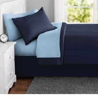 USA COMPLETE BED SET WITH COMFORTER