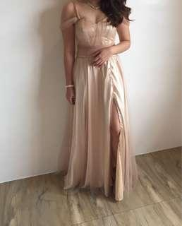 Bridesmaid's Gown (Pink)