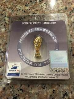 France 98 commemorative pin