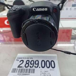 Promo Kredit Camera Canon Powershot Sx430 IS. Tanpa Dp Free 1x Angsuran.