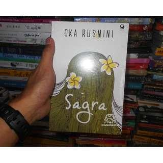 Buku Novel Sagra Karya Oka Rusmini