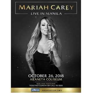 20% off Mariah Carey Concert on Oct. 26, 2018