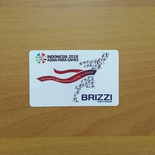 "BRI brizzi ""Asian Para Games 2018"""