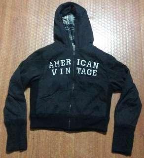 American Vintage Hoodie Jacket Authentic