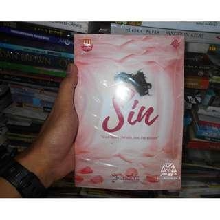 Buku Novel Sin god hates the sin, not the sinner By Faradita