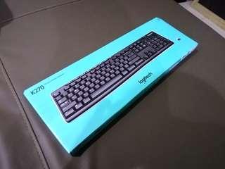(New) Original Logitech Wireless Keyboard K270
