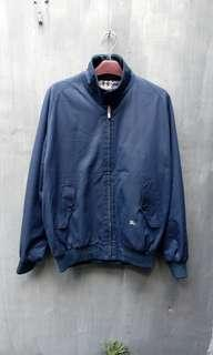 Jaket burberrys harrington nova check not kemeja topi