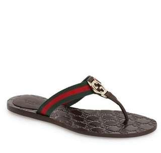 🚚 Gucci Logo GG Sandals