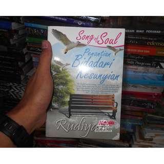 buku novel Song Of Soul - Penantian Bidadari Kesunyian karya rudiyant