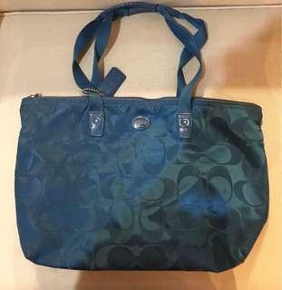 ORIGINAL COACH Foldable Nylon Bag