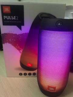 JBL PUSLE2 Bluetooth Speaker 日版