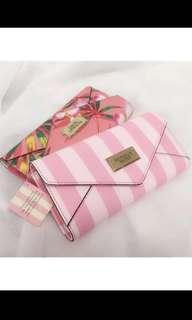 Victoria Secret Stripe Wallet