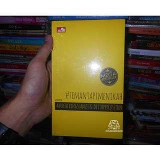 Buku Novel Teman Tapi Menikah By Ayudia Bing Slamet & dittopercussion #temantapimenikah