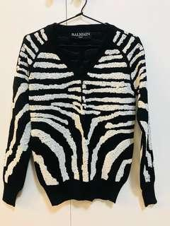 AUTHENTIC BALMAIN JUMPER MADE IN FRANCE
