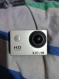 SJ4000 with extra battery dashcam gopro fisheye camera