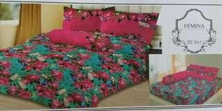 Sprei lady rose uk 180x200