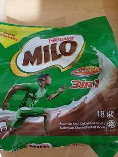 Milo Malaysia Active Go 3in1 18stik