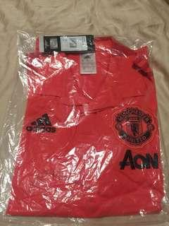 Authentic Manchester United Polo T-Shirt (Size S)