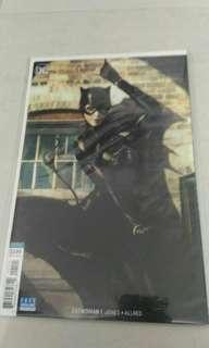 DC Catwoman comic variant