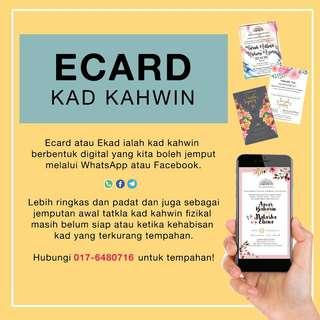 Ecard / Ekad Kahwin