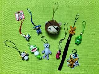 Assorted Keychains (10 in 1)