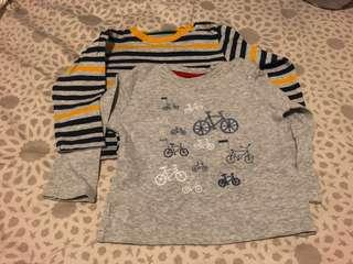 🇬🇧Baby Boy Long Sleeves Top (Mother Care)🇬🇧