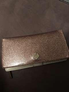 Kate spade New York glitter wallet