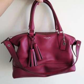 Coach Legacy Molly Satchel Leather