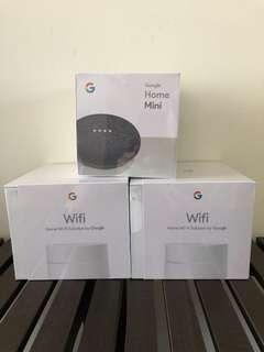 Google Wifi & Home Mini