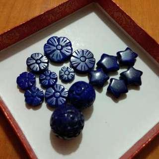 水晶 青金石 小配件