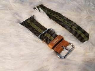 Apple Watch Toms Green Stripe Strap (Rush!! Rush!!)