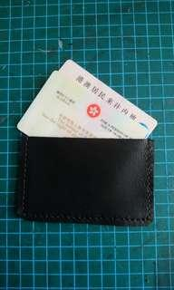 DIY羊皮身份証保護套