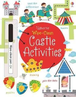 🚚 (BN) Usborne: Wipe-Clean Castle Activities